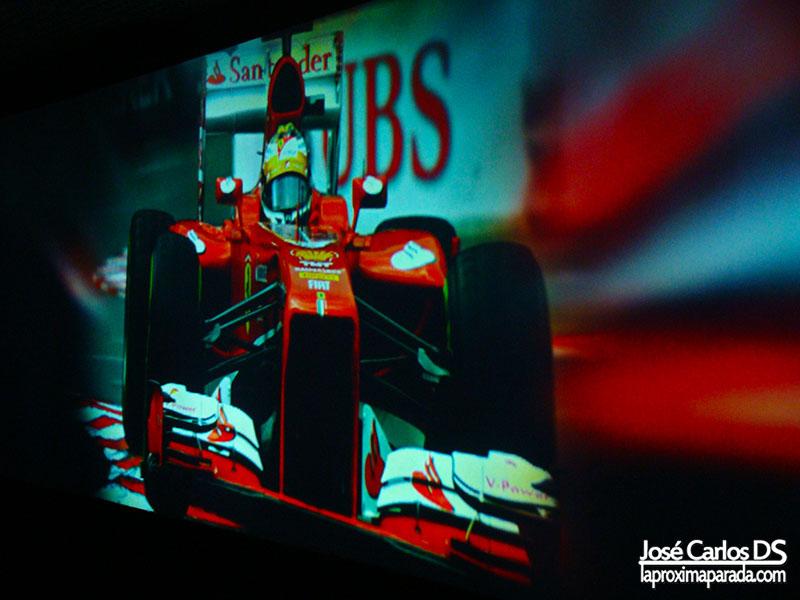Fernando Alonso en Acción Formula 1