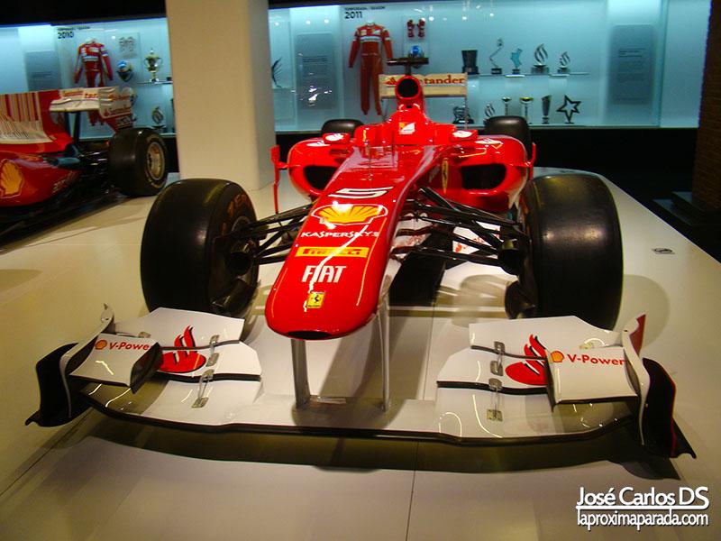 Monoplaza Ferrari 150º Italia