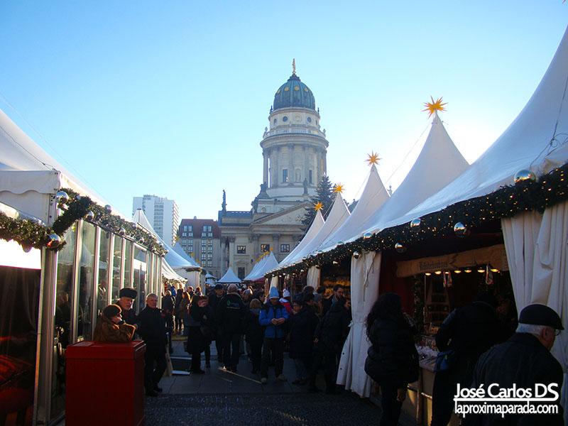 Mercadillo Navideño Gendarmenmarkt Berlin