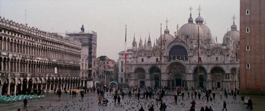 Plaza de San Marcos Venecia Italian Job