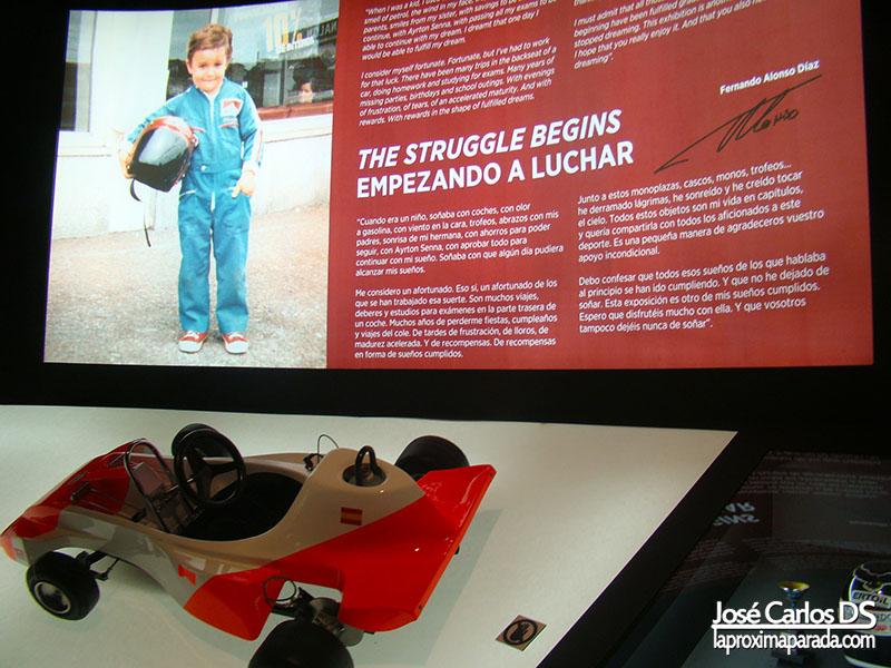 Primer Kart Fernando Alonso