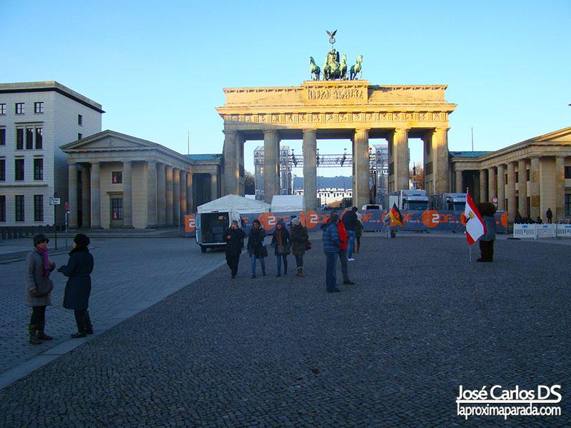 Puerta de Brandenburgo Berlin Alemania