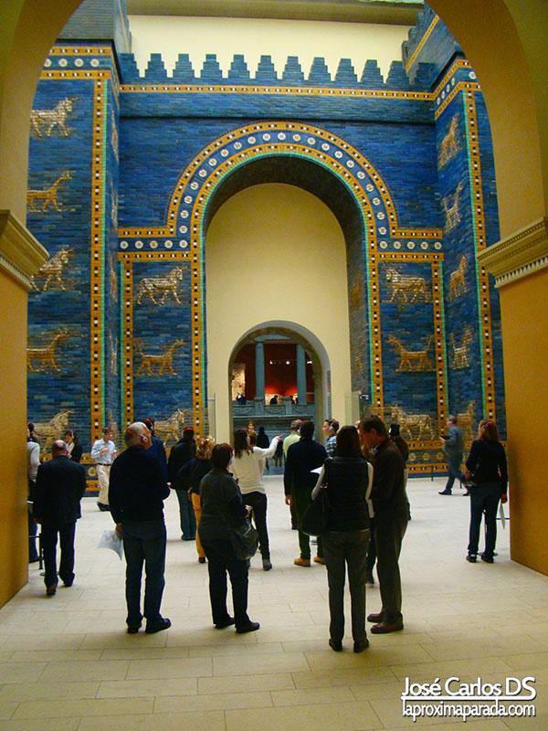 Puerta de Istar en el Museo de Pergamo de Berlin