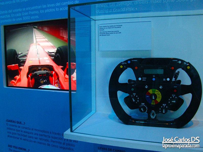 Volante Monoplaza Ferrari Fernando Alonso