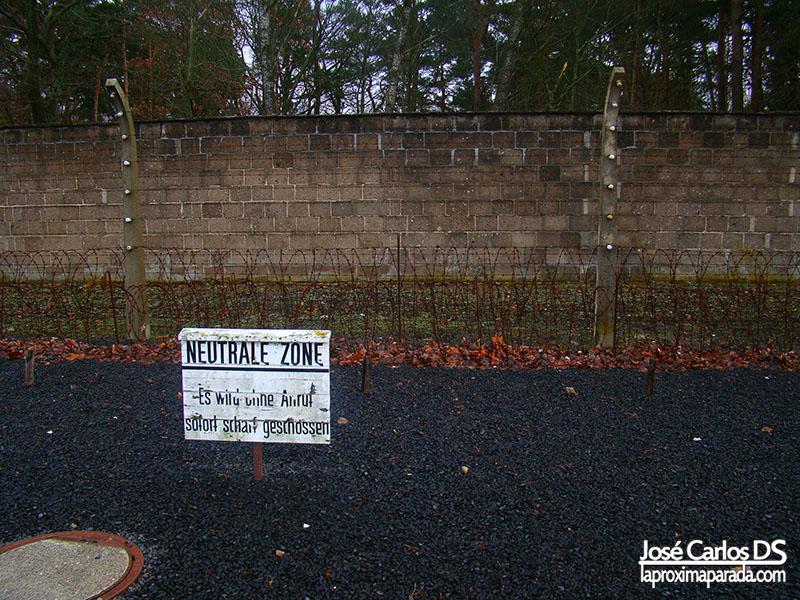 Alambrada Campo de exterminio Sachsenhausen