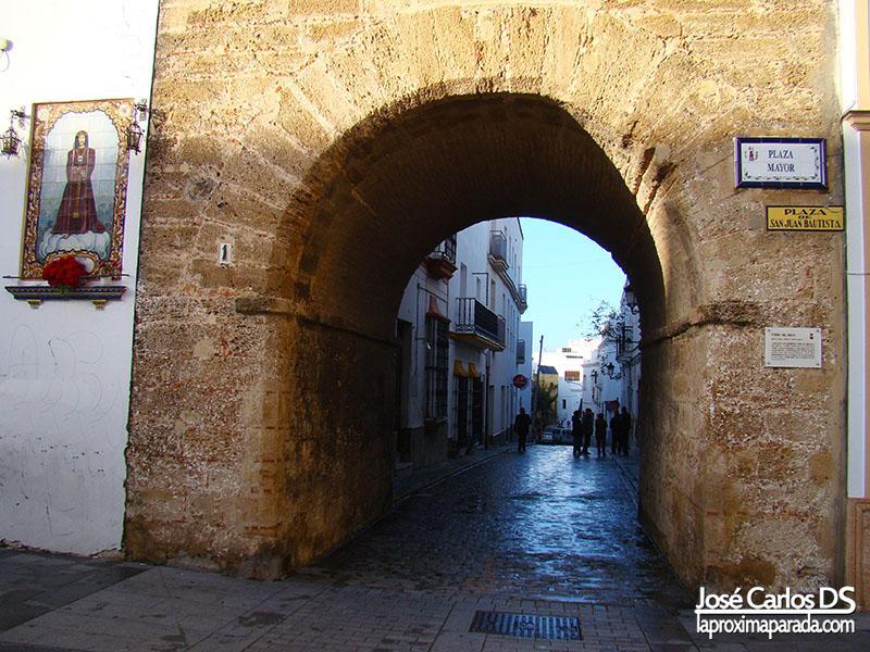 Arco Torre del Reloj Plaza Mayor Chiclana