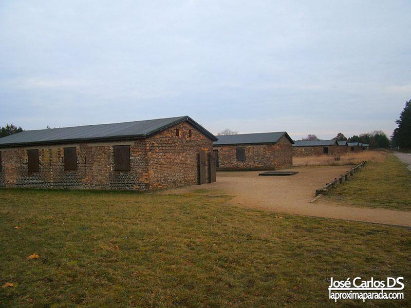 Barracones Campo de Sachsenhausen