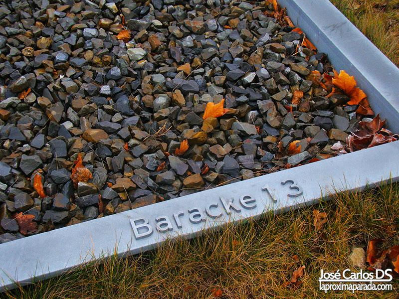 Cimientos Barracones Sachsenhausen