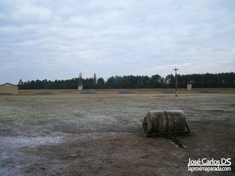 Explanada Campo de concentración de Sachsenhausen