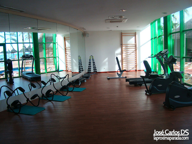 Gimnasio Hotel Holiday Palace