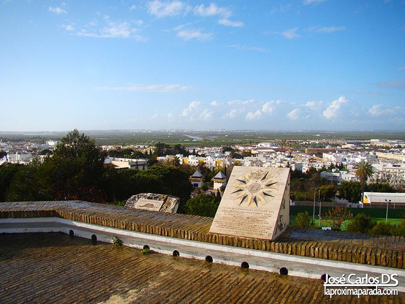 Panoramica Chiclana de la Frontera desde Santa Ana