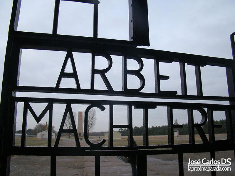 Puerta entrada Sachsenhausen