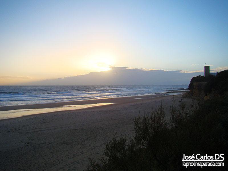 Atardecer Playas de Chiclana