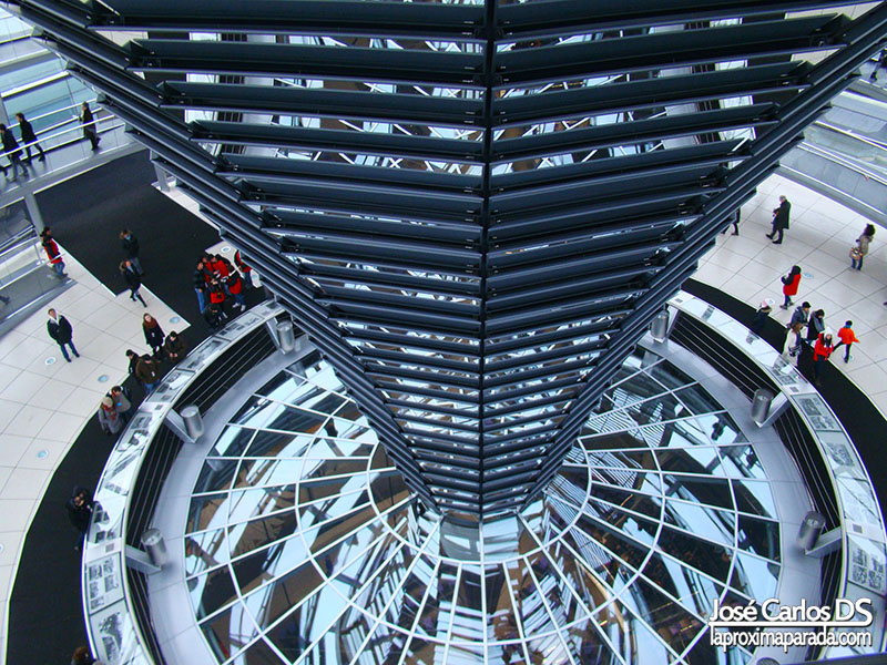 Cúpula Cristal Parlamento Alemán Berlin