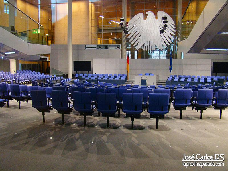 Asientos Parlamento Aleman en Berlin