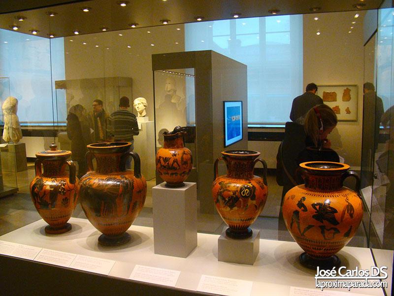 Exposición Museo Antiguo de Berlín