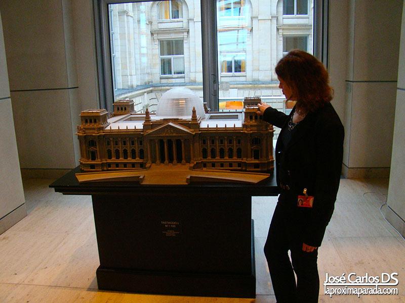 Maqueta Parlamento Alemán Berlin
