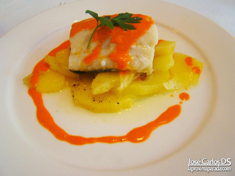 Bacalao Restaurante Aguamar Hotel Barceló Estepona