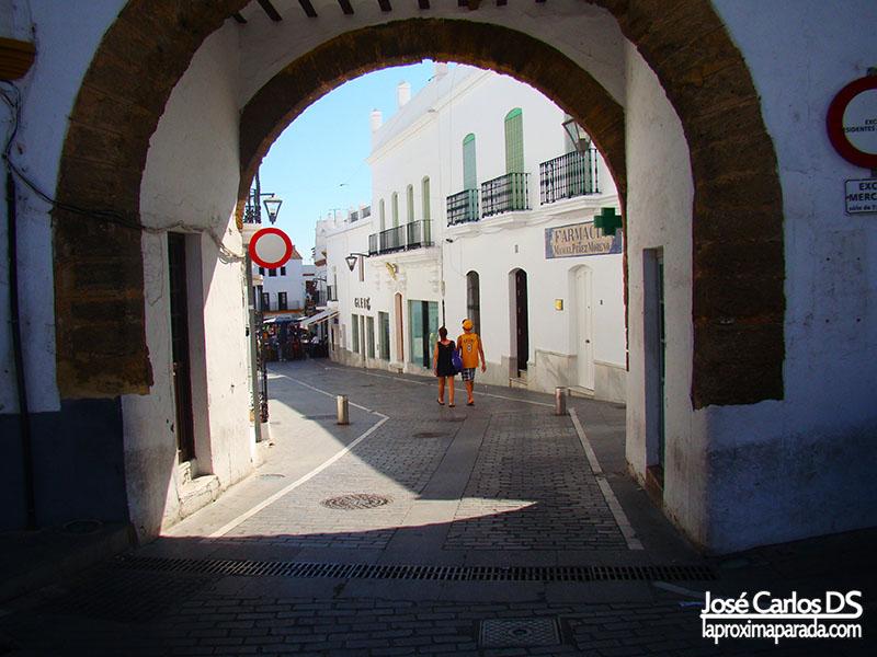 Arco Plaza de España de Conil, Cádiz