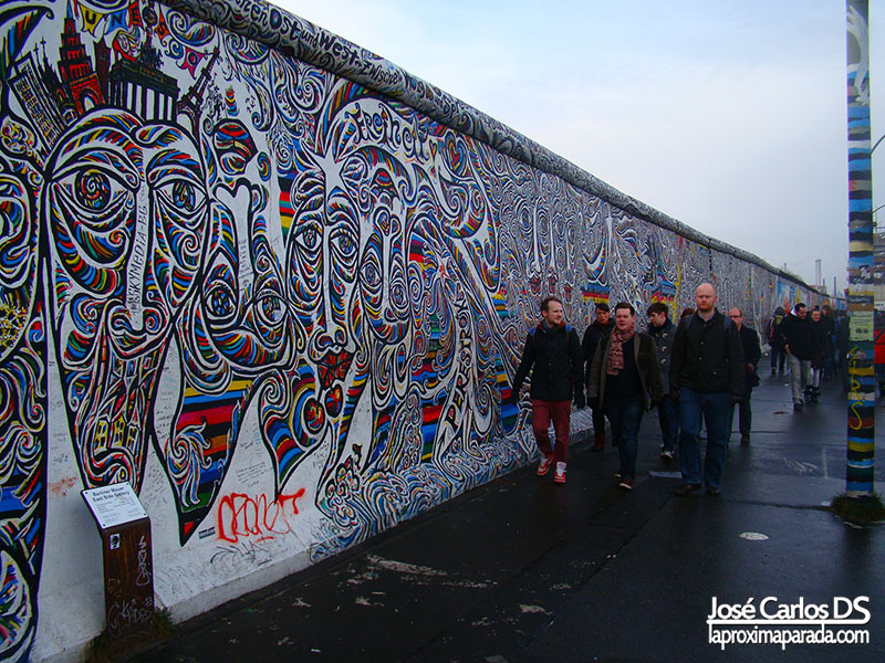 East Side Gallery Muro Berlin