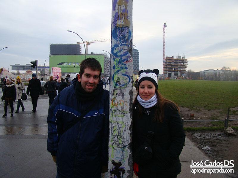 Las dos caras del Muro de Berlín