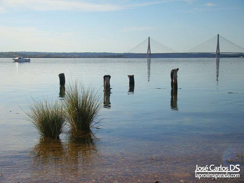 Puente internacional Río Guadiana Ayamonte Huelva