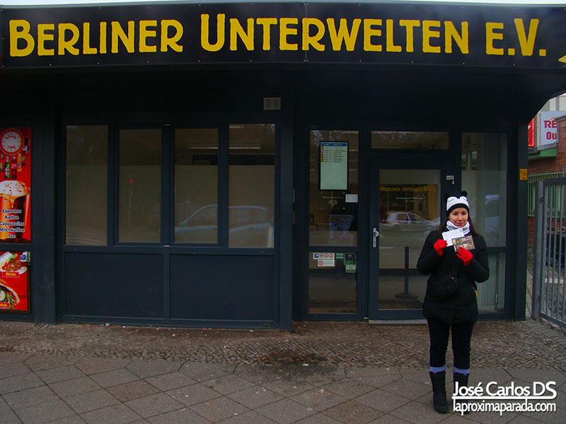 Taquillas Berlin Berliner Unterwelten