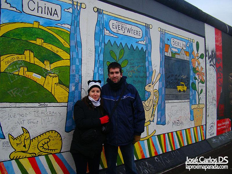 Viajando a través del Muro de Berlín