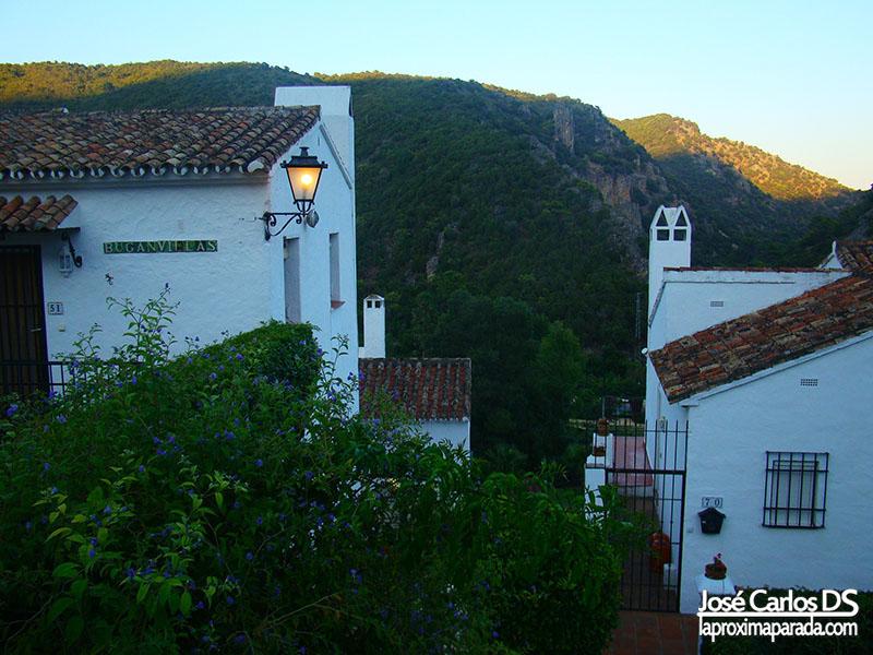 Anochecer en Benahavís Málaga