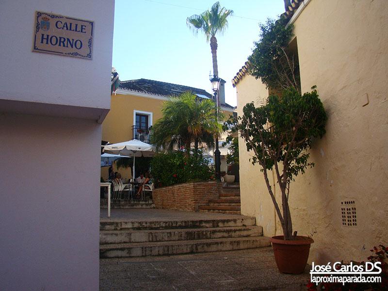 Calle Horno en Benahavís