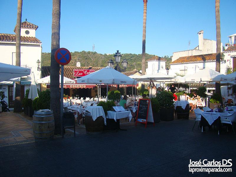 Restaurantes Plaza de España Benahavís