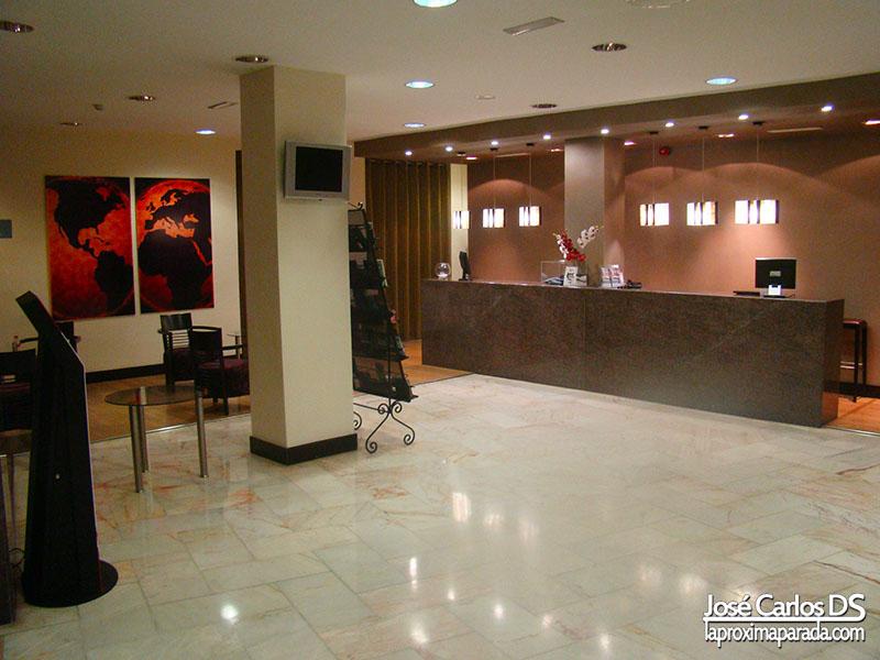 Recepción Hotel Eurostars Tartessos Huelva