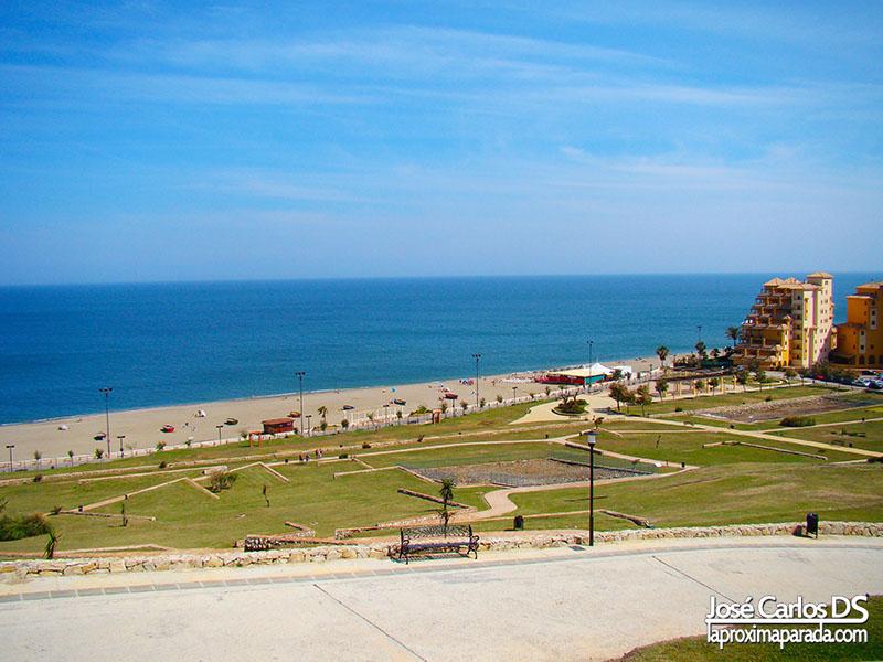 Playa Castillo de Sohail Fuengirola