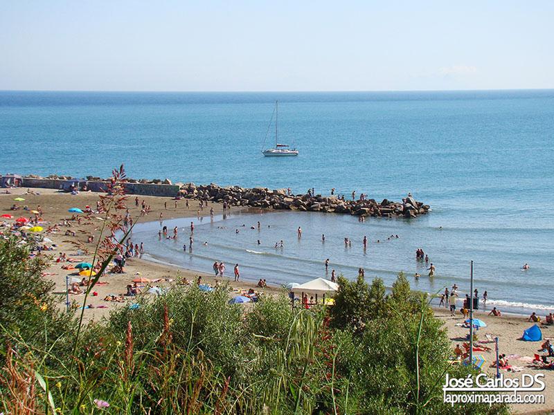 Playa del Cristo en Estepona