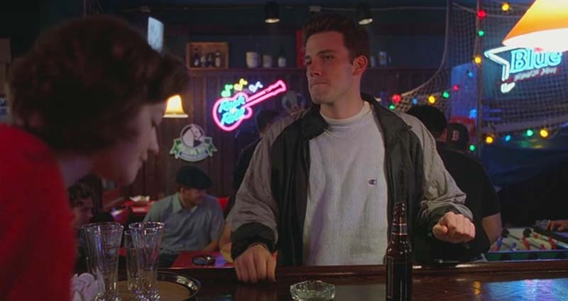 Ben Affleck (Chuckie Sullivan) en El Indomable Will Hunting
