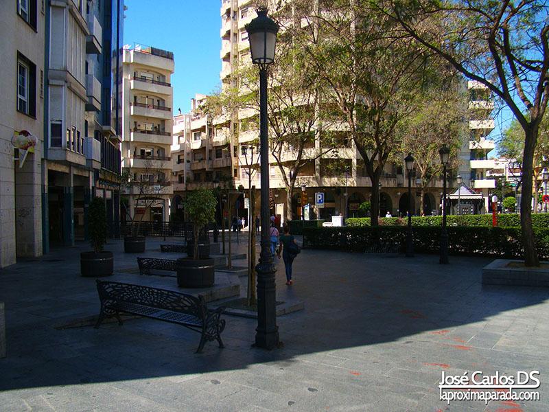 Calle Pablo Rada Huelva Capital