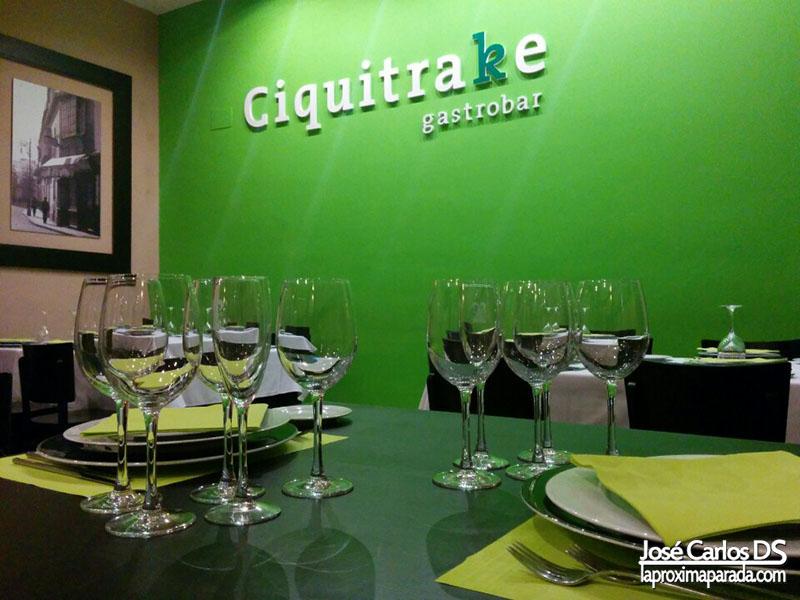 Ciquitrake Gastrobar Huelva