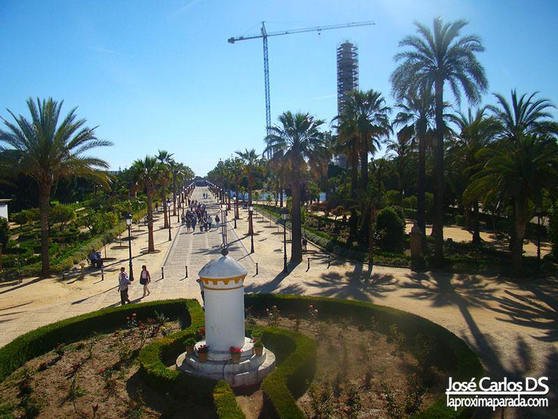 Columna del IV Centenario en La Rábida Huelva