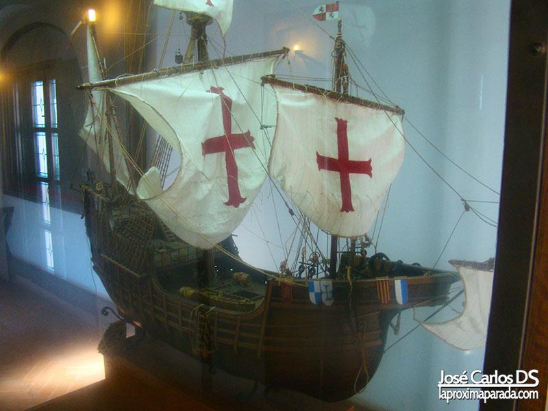 Maqueta Carabela Monasterio la Rábida Huelva