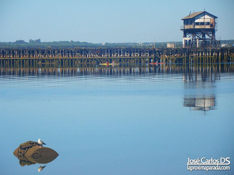 Muelle de Tharsis Huelva