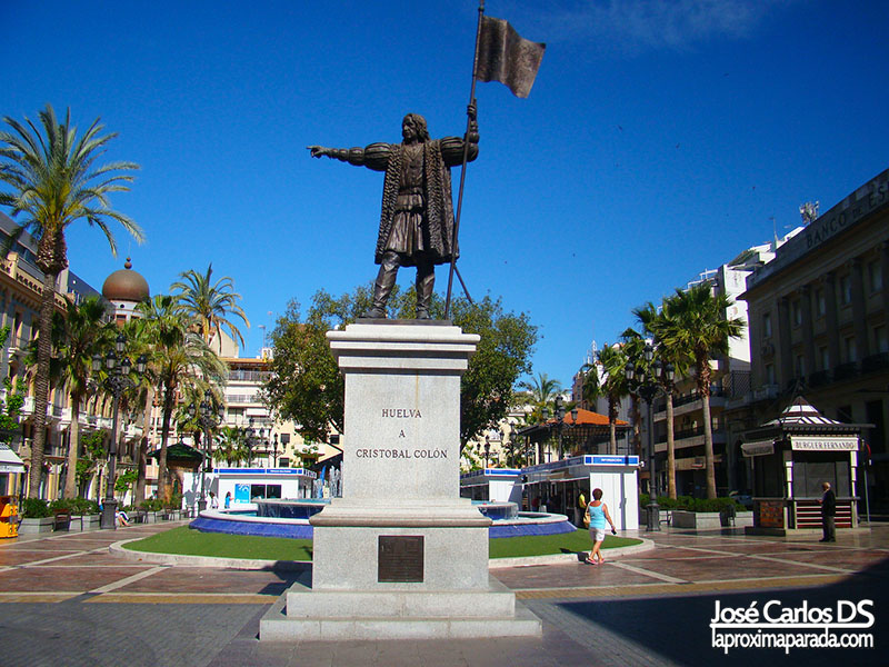 Estatua Cristobal Colón