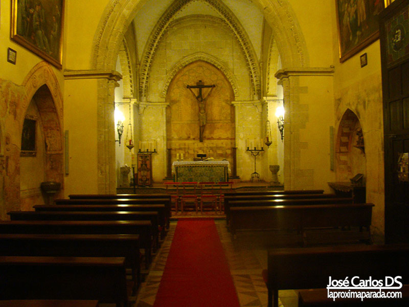 Presbiterio Monasterio de La Rábida