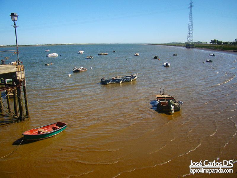 Río Tinto desde La Rábida Huelva