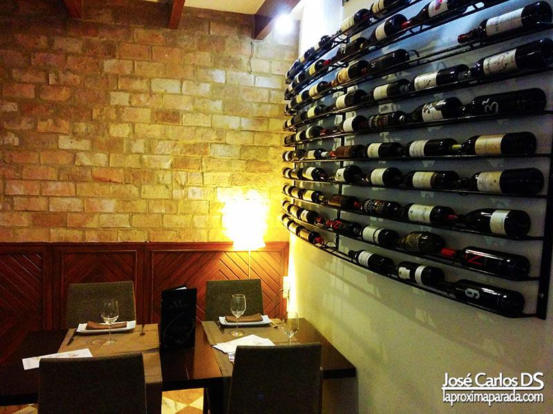 Vinos Restaurante La Mirta