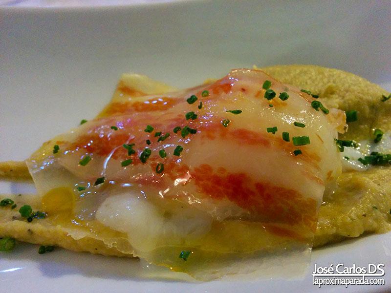Tartar Jamón Iberico Restaurante Acánthum Huelva
