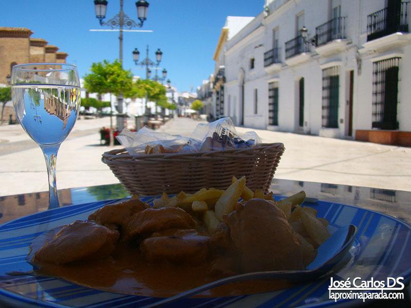 Plaza de Las Monjas Comer en Moguer