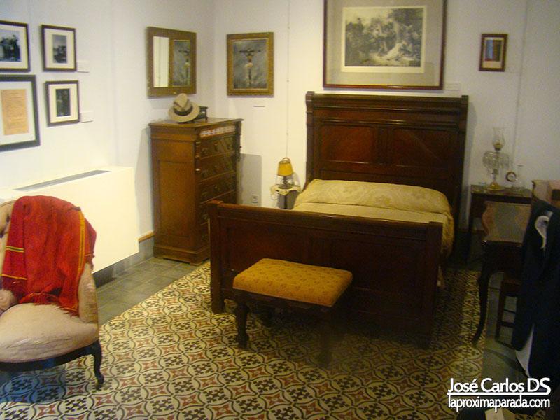 Dormitorio Casa Museo JR Jiménez Moguer