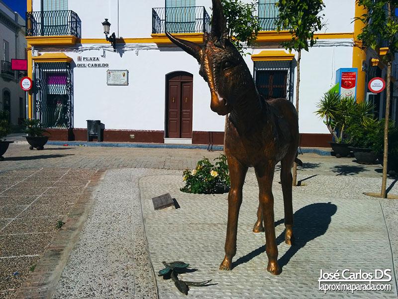 Homenaje Burro Platero y Yo Moguer