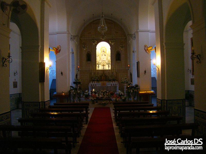 Interior Nuestra Señora de las Mercedes Bollullos Huelva