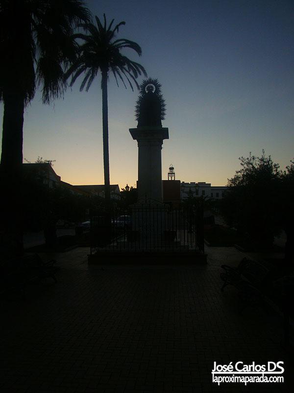 Monumento a la Virgen de las Mercedes Bollullos Huelva